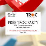 Free Troc Party à la MJC Annemasse